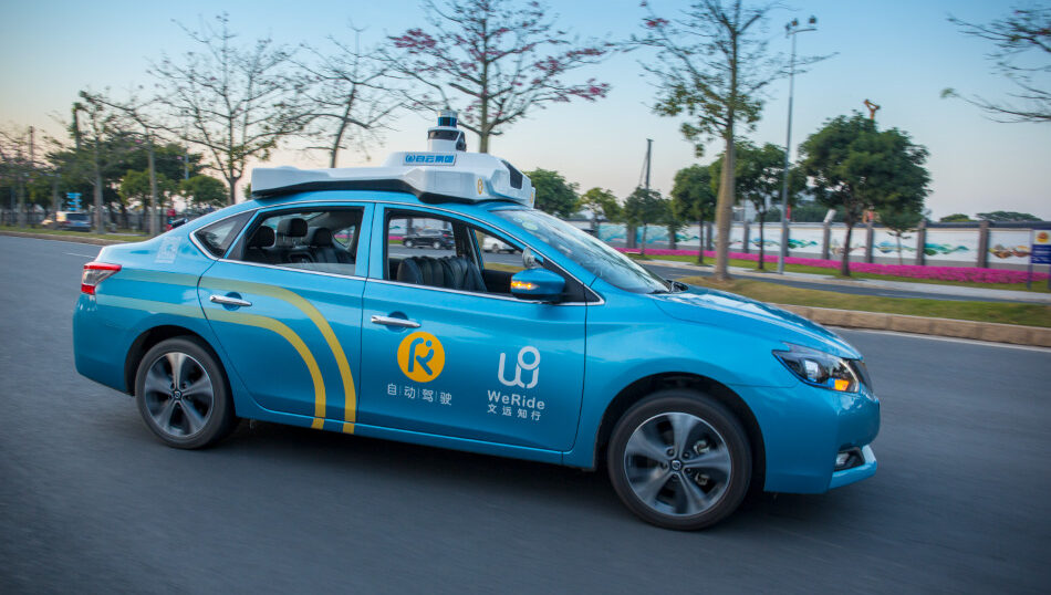 WeRide conducts driverless test